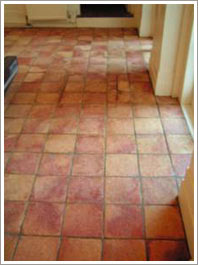 Terracotta and Slate Cleaning