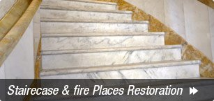 Stairecase & Fire Places Restoration