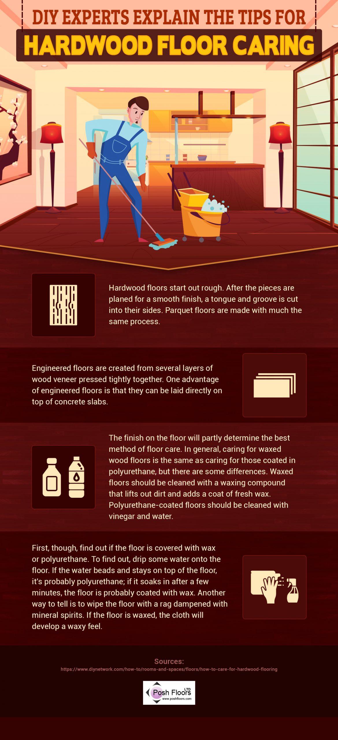 Hardwood Floor Caring